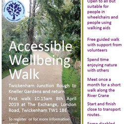 Image: Accessible Wellbeing Walk